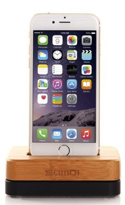 Док-станция для Apple iPhone Samdi (Wood/Black)