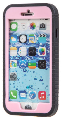 Waterproof Case - чехол для iPhone 6 Plus (Black/Pink)