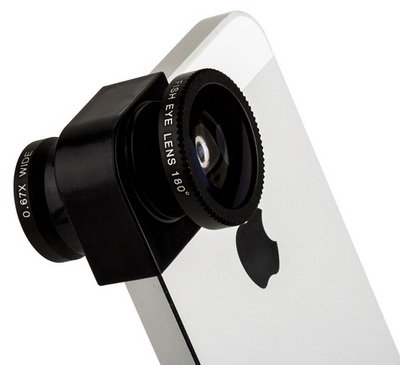 Объектив для iPhone 5/5S Photo lens 3-in-one 2x angle