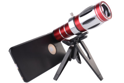 Объектив для iPhone 6 Plus Telephoto Lens Review 20x (Red)