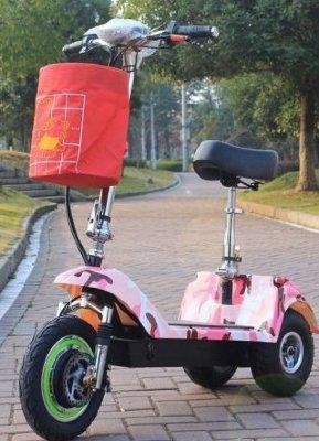 Электросамокат EL-Sport Трицикл SF8 48V/10A