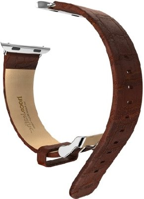 Ремешок HOCO Art Series Bamboo Real Leather для Apple Watch 42 mm (Brown)
