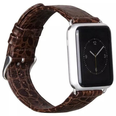 Ремешок HOCO Crocodile для Apple Watch 38 mm (Brown)